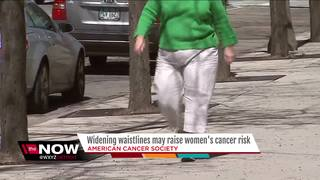 Growing waistlines may raise women's cancer risk