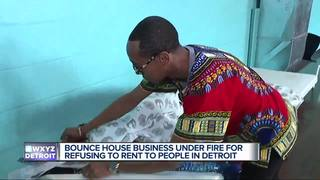 Bounce house owner won't rent to Detroit