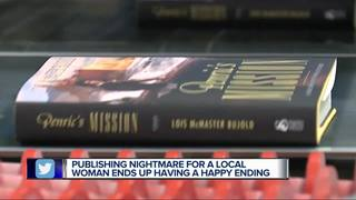 Printing company steps in to help local author