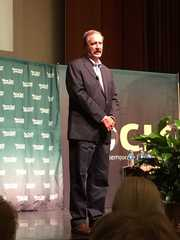 Big crowd turns out for Mexico's Vicente Fox