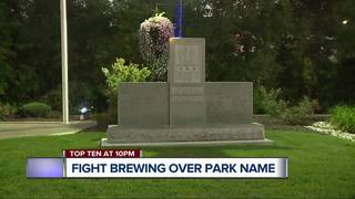 Utica park's name causes debate