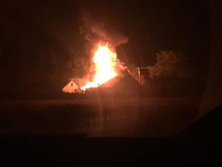 Fire at Lyon Twp. motorcycle club is suspicious