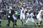 O'Korn steps in for Speight; U-M beats Purdue