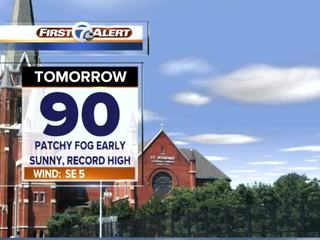 FORECAST: Record highs on 1st fall weekend