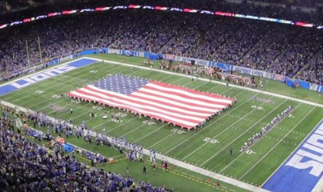 Owner Martha Firestone Ford joins Lions in anthem protest