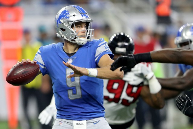 Falcons hold off Lions as final play falls short