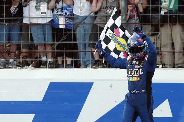 Kyle Busch Wins Playoff Race 2 at New Hampshire