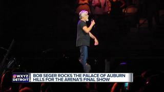 Bob Seger concert final show at Palace