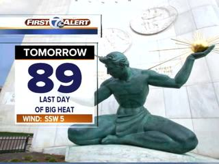FORECAST: Tracking cooler fall temperatures