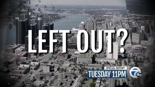 Tuesday at 11: Left out of Detroit's recovery?