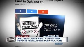 Restaurant report cards: Oakland County
