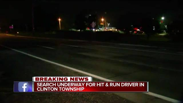 Hit-and-run crash that killed bicyclist in Clinton Township under investigation