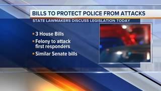 Bills would enhance penalties for attacking cops