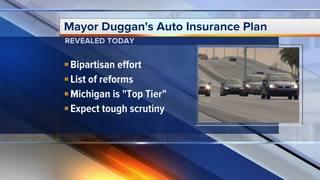 Duggan unveils plan to lower MI auto insurance