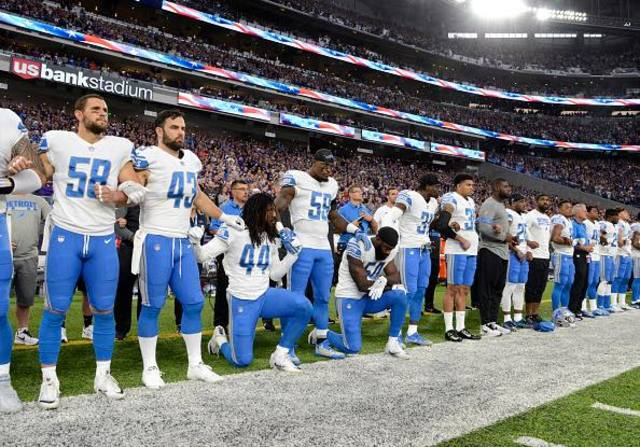 Lions Owner Martha Ford Asked Players Not to Kneel for Anthem