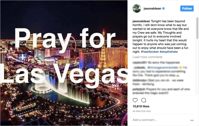 Fundraisers held for Las Vegas shooting victims