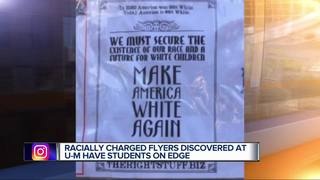 Racist flyers found on U of M campus