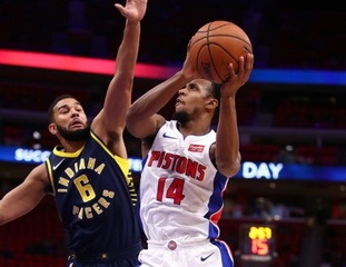 Pistons beat Pacers in home preseason finale