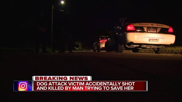 Neighbor accidentally shoots, kills woman being mauled by dog