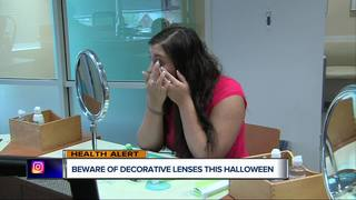 Beware of decorative lenses this Halloween