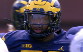 Michigan DT Hurst driving Uber car in free time