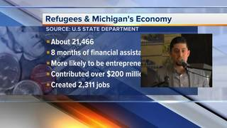 Refugees contributed $200M to MI economy