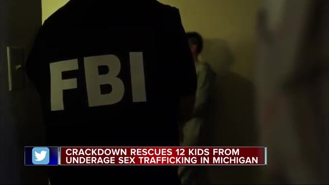 12 kids rescued in human trafficking sweep