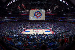 Photos: Pistons win at LCA home opener