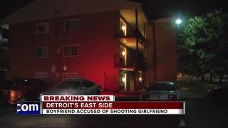 Man accused of shooting girlfriend in Detroit