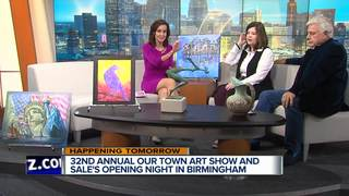 OUR TOWN ART Show & Sale