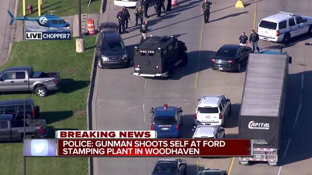 1 dead in shooting at Woodhaven Stamping Plant