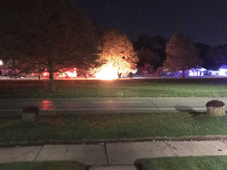 Person dies after fiery crash in Detroit