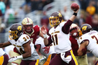 Morris, Willis connect for 3 TDs in CMU win