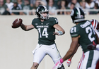 Late TDs lift Michigan State over Indiana