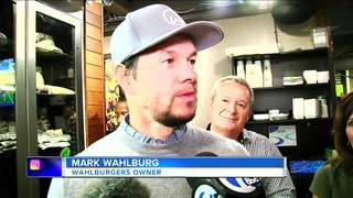 Mark Wahlberg makes a surprise visit in Detroit