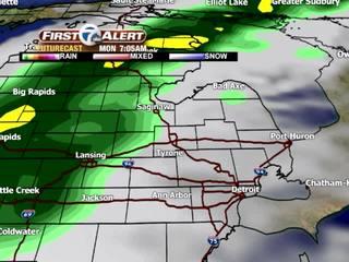 FORECAST: Heavy rain next week