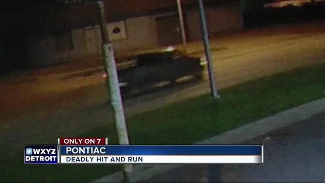 Fatal hit and run in Pontiac caught on camera