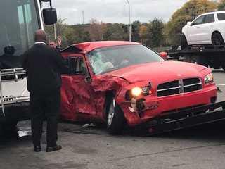 Off-duty officer involved in Detroit crash