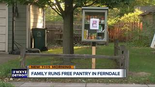 Ferndale couple launches free little pantry