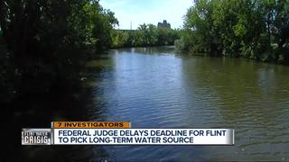 Flint gets one more day to pick water source