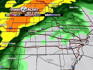 FORECAST: Heavy rain to slow the drive
