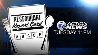 Tuesday at 11: Restaurant Report Card Downtown