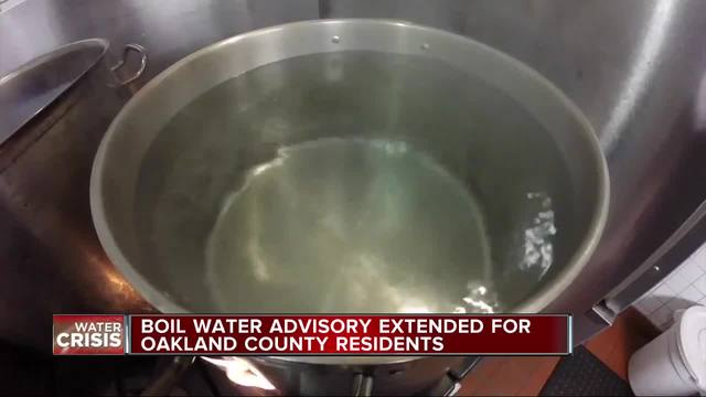 Detroit-area communities remain under boil water advisory