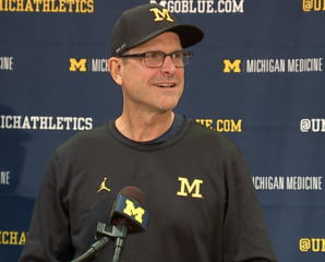 Harbaugh doesn't expect players to be suspended