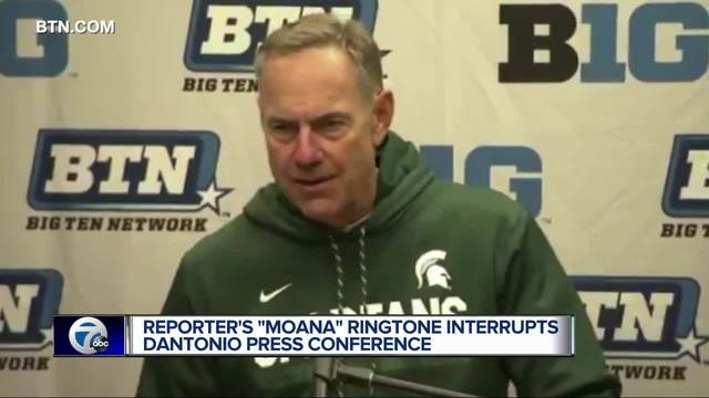 MSU's Dantonio to The Rock: 'You're welcome!&#39