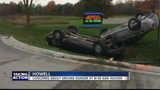 Howell car accident raising alarm over 'dangerous intersection'
