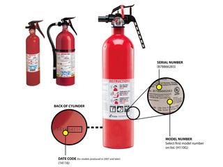 37.8M fire extinguishers recalled; 1 death
