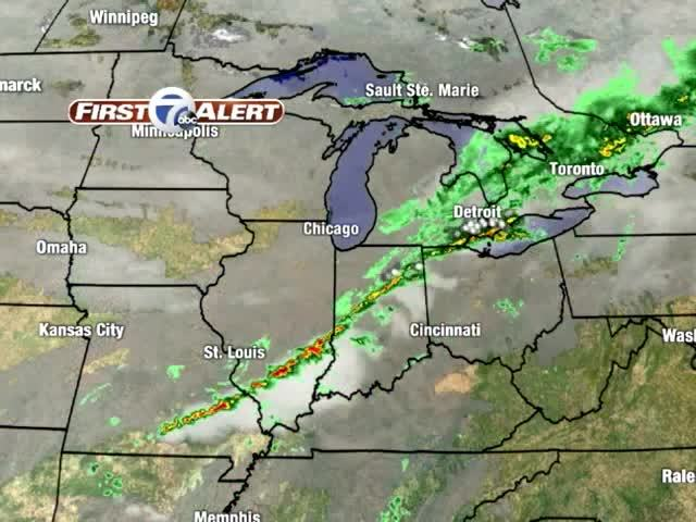 Mild Temperatures for Now, But Cooler Air, Showers on the Way
