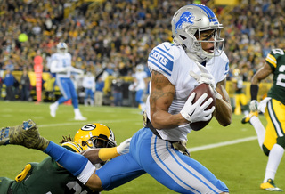 Marvin Jones catches 2 TDs as Lions beat Packers