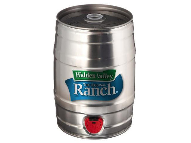 Love ranch dressing? Hidden Valley offers keg of the salad dressing